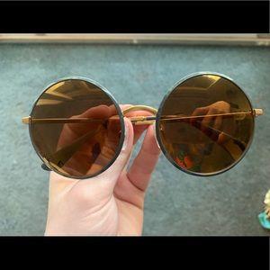 Dolce & Gabbana circular sunglasses